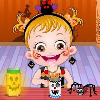 Baby Hazel Halloween Crafts
