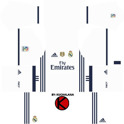real madrid jersey dream league soccer 2016