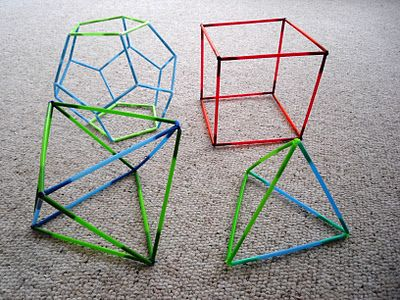 Shapes with Straws
