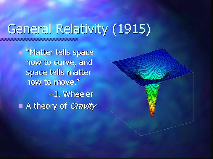 a study on albert einsteins theory of special relativity An article on tuesday about albert einstein's theory of relativity misstated the given name of a classmate of einstein with whom he published an outline of a gravity theory in 1913 he was .