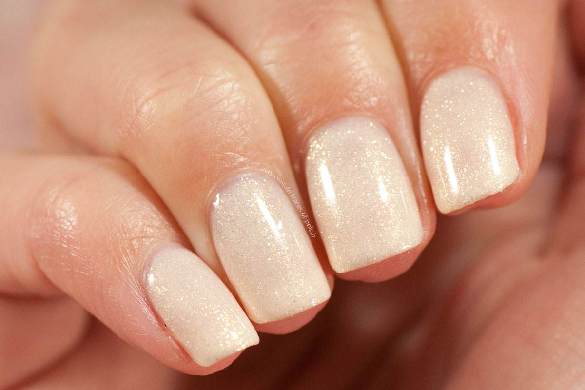 Pink Gellac Boudoir Charm Collection Swatches - 304 Radiant White -