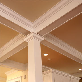 Moulding Interior Trim Columns And Similar Woodwork Are Terrific For Adding Character Style To A Home S Rooms Crown Chair Rail