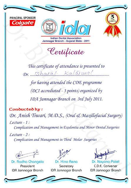Exodontia and Minor Dental Surgeries and Third Molar surgeries by Dr. Anish Tiwari
