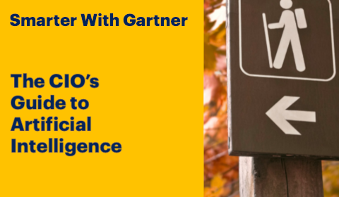 Gartner – The CIO's guide to artificial intelligence
