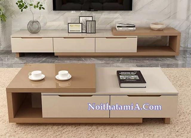 Mẫu kệ tivi gỗ nhập khẩu đẹp giá rẻ KTV239