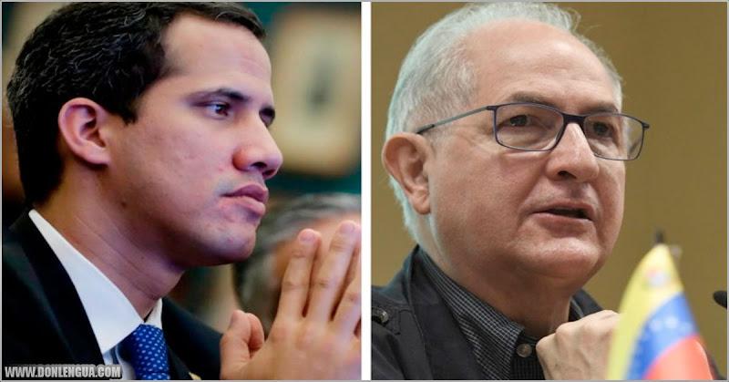 Guaidó se defiende de Ledezma diciendo que la DEA está en el Caribe
