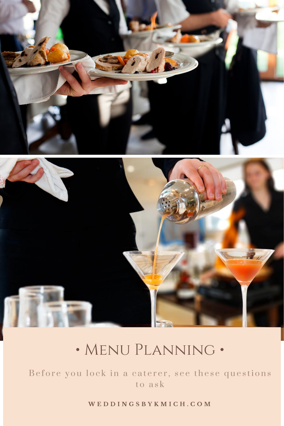 Planning Your Wedding Menu? Here's What You Need to Ask the Caterer