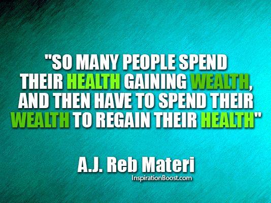 kesihatan adalah kekayaan