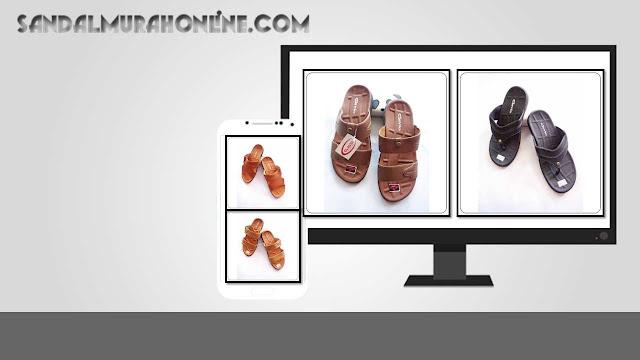 Sandal imitasi Clavio Murah produksi asli Tasikmalaya