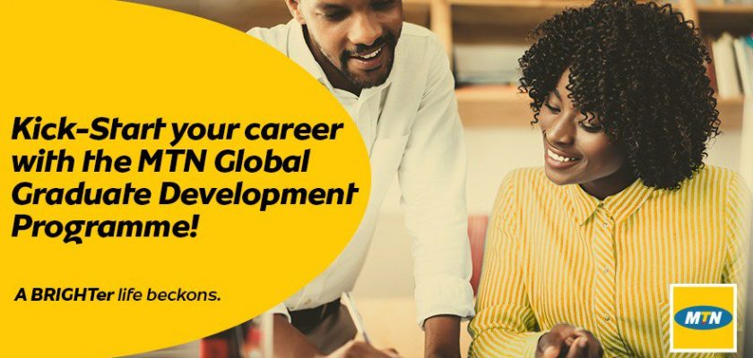 MTN Global Graduate Development Programme 2020 for Young Africans