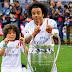 Anak Marcelo Tunjukan Skill Di Ruang Ganti Real Madrid