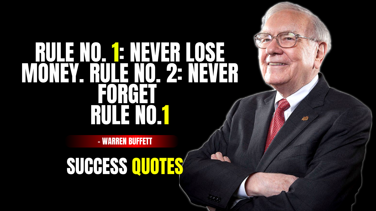 Warren Buffett Quotes about Investing & life