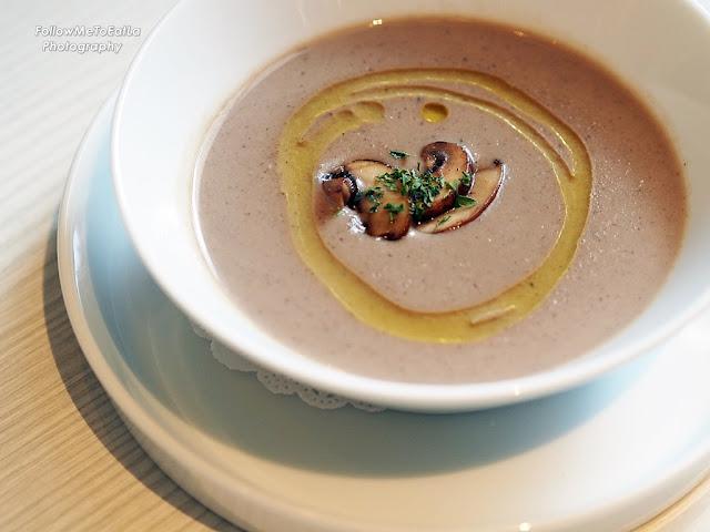 Truffled Mushroom Soup