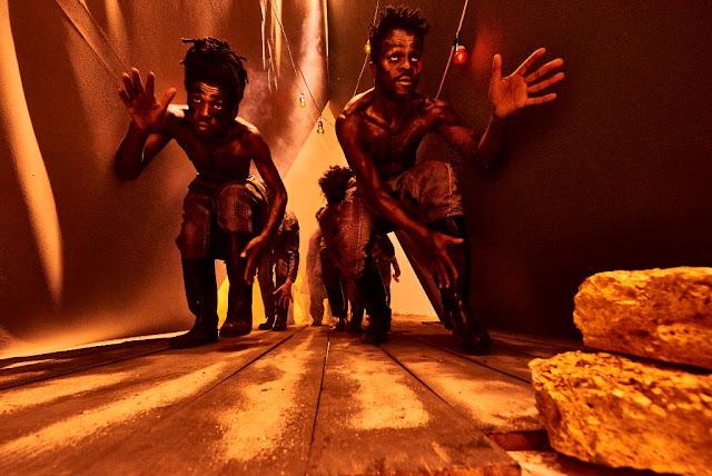 Gumboot Dance Brasil ministra oficina durante temporada de estreia do novo espetáculo no SESC Consolação