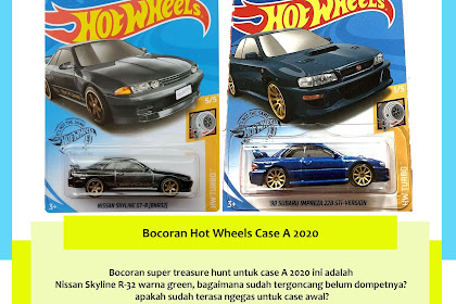 Bocoran Hot Wheels Case A 2020
