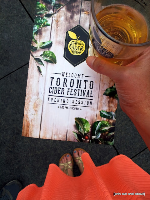 {Erin Out and About} Toronto Cider Festival