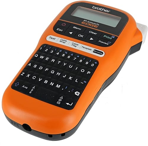 Review Brother PT-E105 P-Touch Edge Label Maker