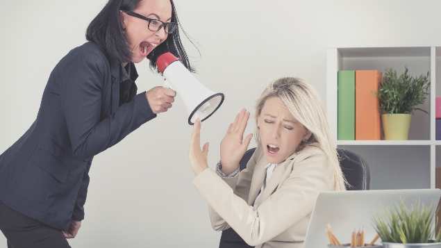 dimarahi atasan atau boss