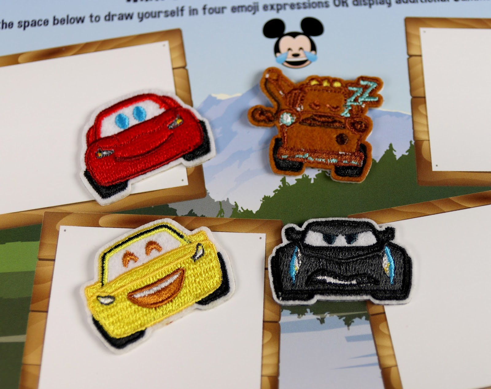 disney store summer play days cars 3 patches