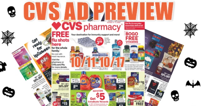 CVS Ad Scan 10/11 to 10/17