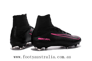pre order quality design undefeated x footyaustralia.com.au: Black / Pink Nike Mercurial Superfly ...