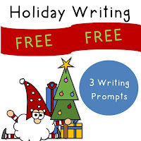 FREE Holiday Writing Prompts