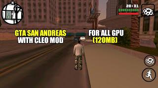 GTA Sa Cleo Mod Apk
