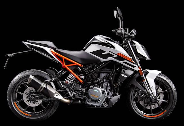 Spesifikasi KTM 250 Duke