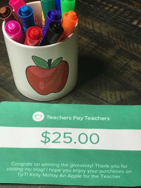 Teachers pay Teachers Gift Card Giveaway September 13, 2021