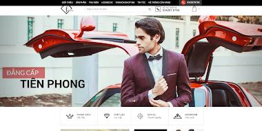 Thiết kế website bán hàng thời trang nam giá rẻ