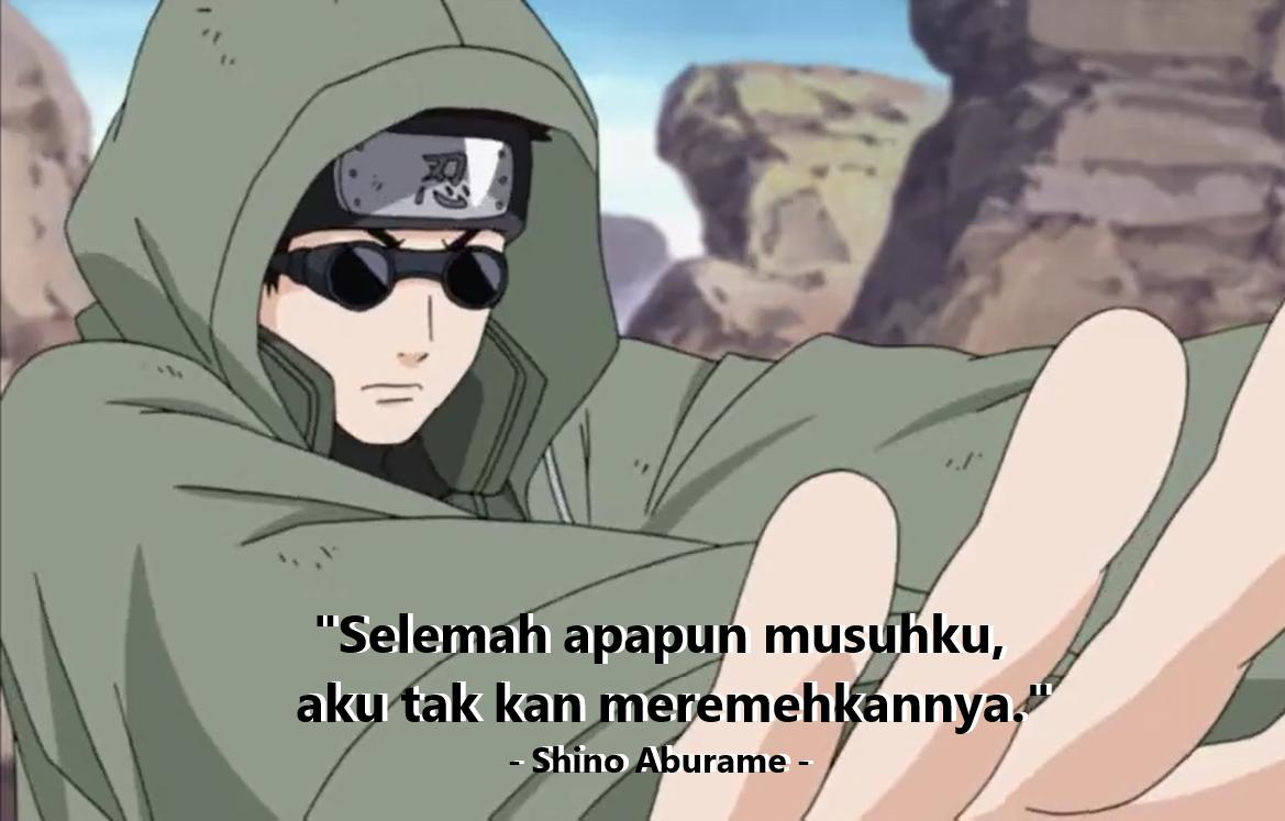 Gambar kata-kata Naruto tentang meremehkan lawan