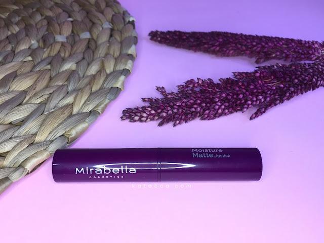 mirabella moisture matte lipstick