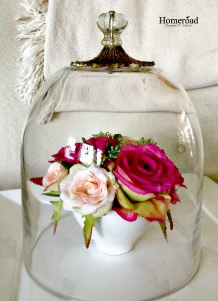 Repurposed Glass Vase Cloche