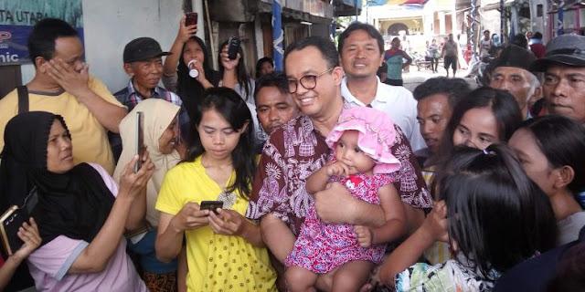Diminta Melegalisasi Kampung Yang Dianggap Ilegal, Anies: Jika terpilih insya Allah Akan terlaksana