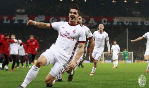 Genoa vs Milan 0-1 Highlights