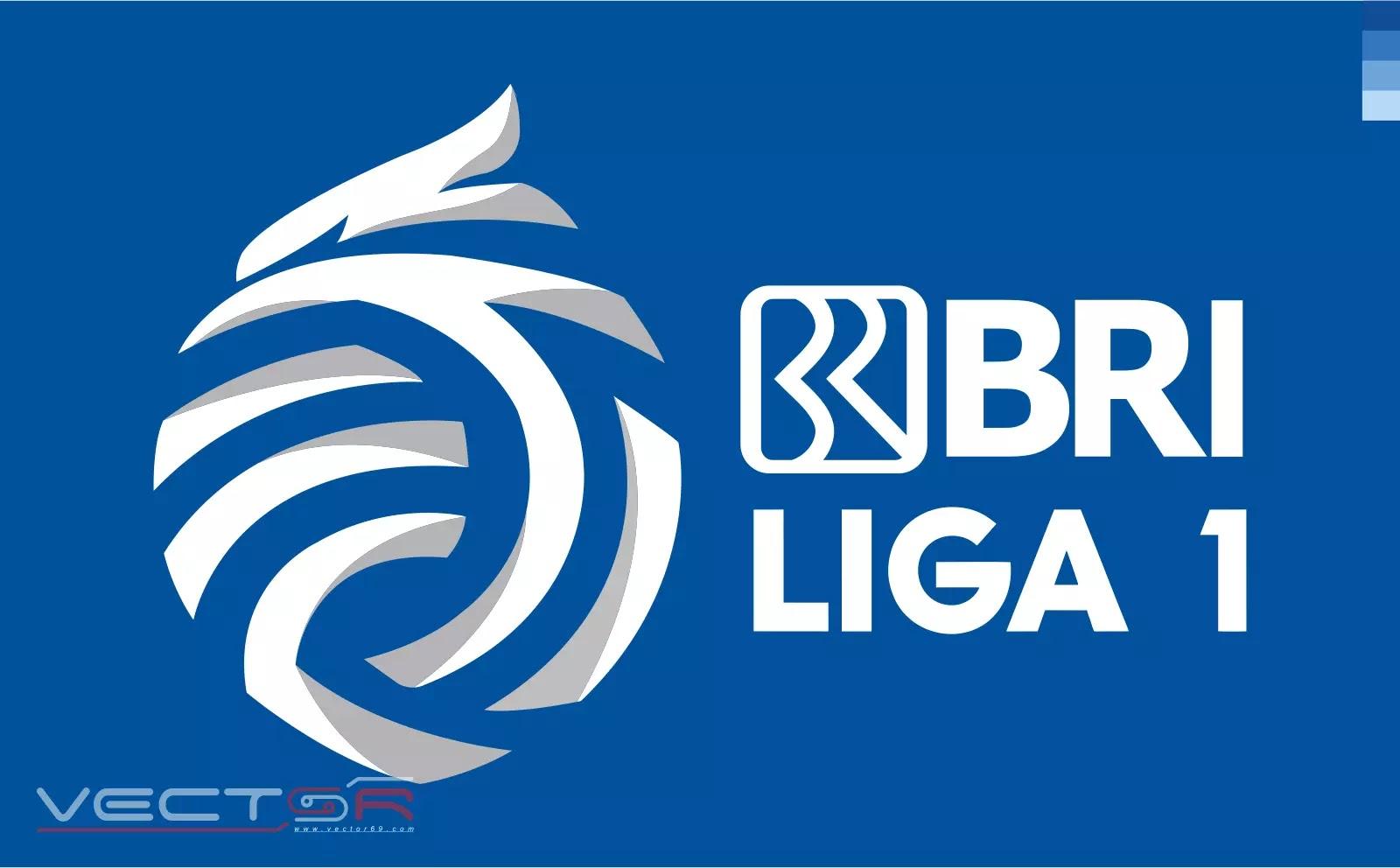BRI Liga 1 Indonesia Secondary Logo - Download Vector File Encapsulated PostScript (.EPS)