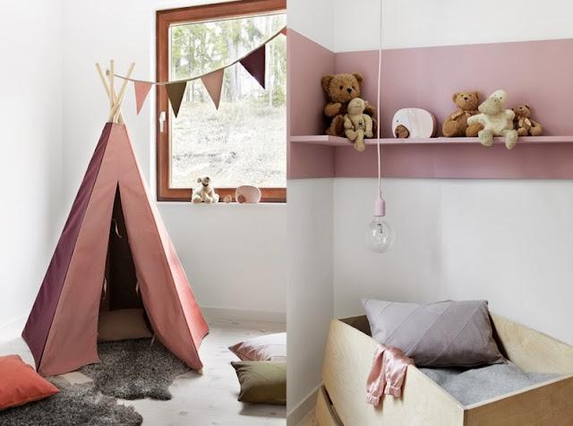 decorar dormitorio infantil con estilo escandinavo