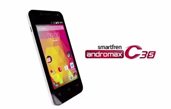 Spesifikasi Smartfren Andromax C3si