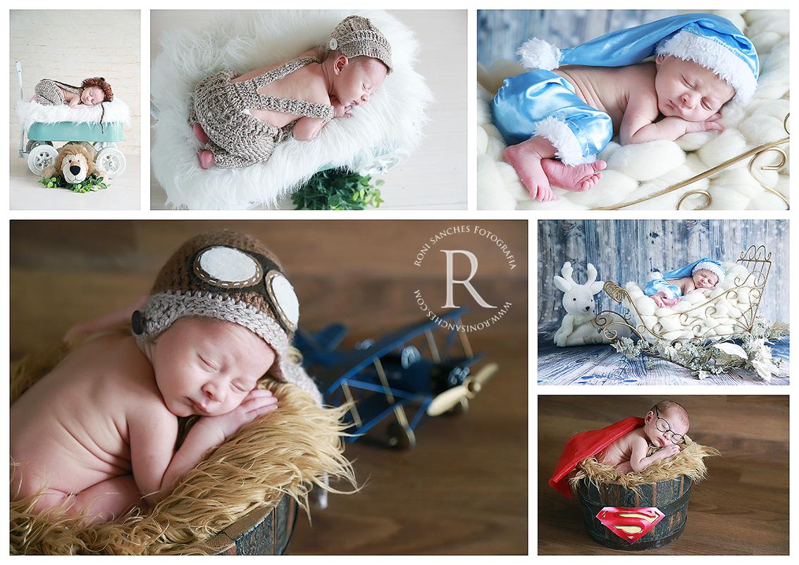 newborn ensaio fotográfico com recém-nascido