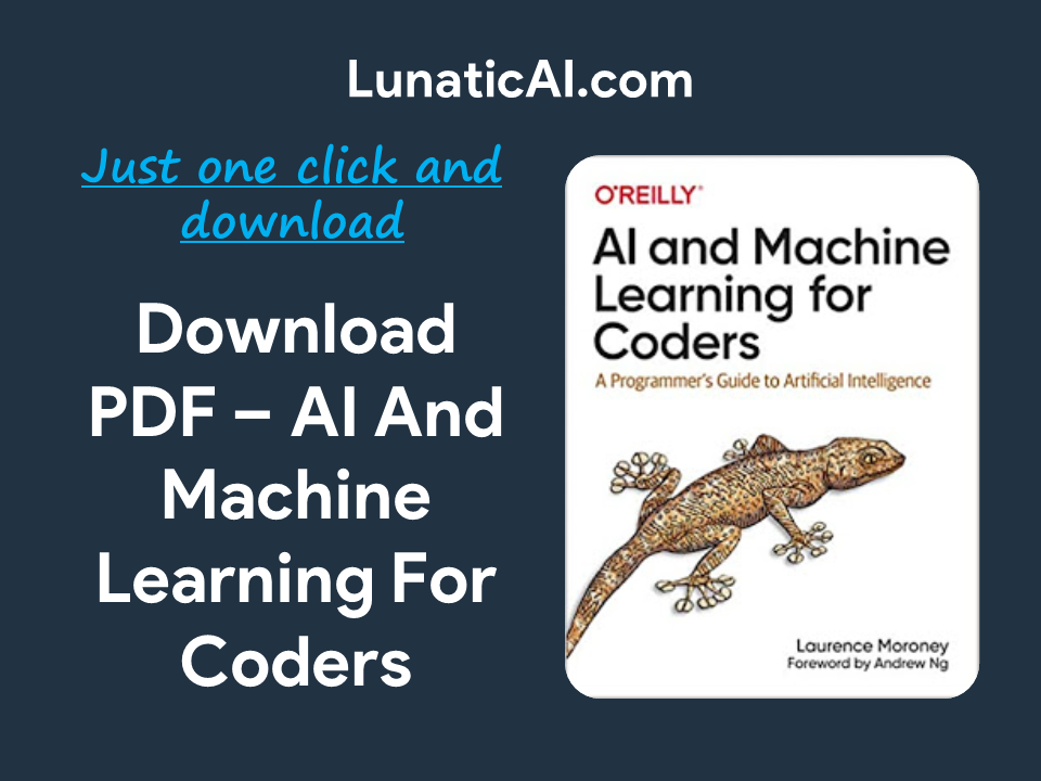 AI And Machine Learning For Coders PDF Github