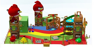 Criadora do 'Angry Birds' anuncia playgrounds no Brasil