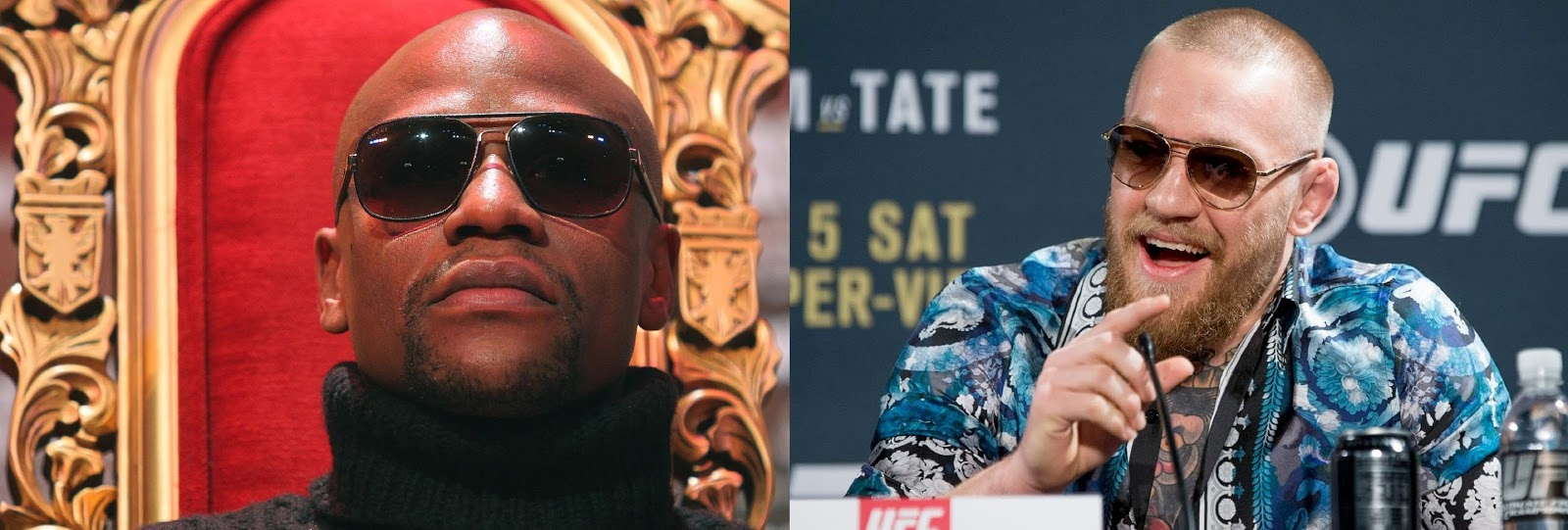 FLOYD MAYWEATHER VS CONOR MCGREGOR 6