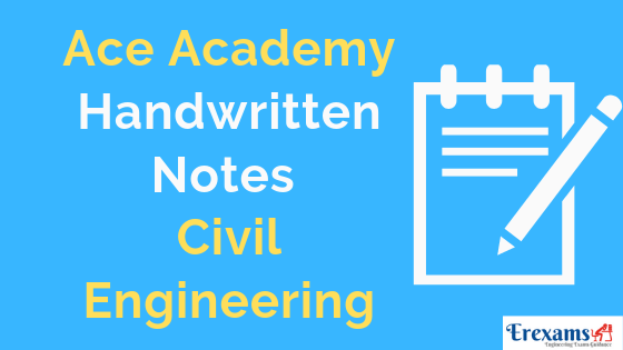 Ace Academy Civil Notes For Gate IES PSU Free Pdf Download