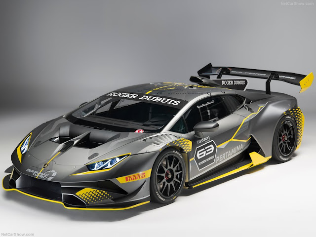 Evo Pertamina Lamborghini Huracan Super Troveo