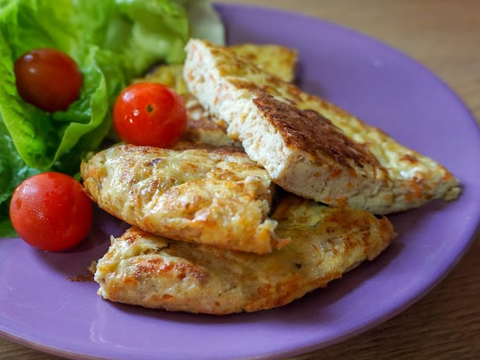 Healthy Meal : Tuna Omelette