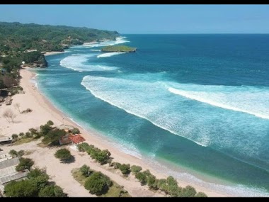 Pesona Keindahan Pantai Krakal Pesona Wisata Pantai Di Yogyakarta
