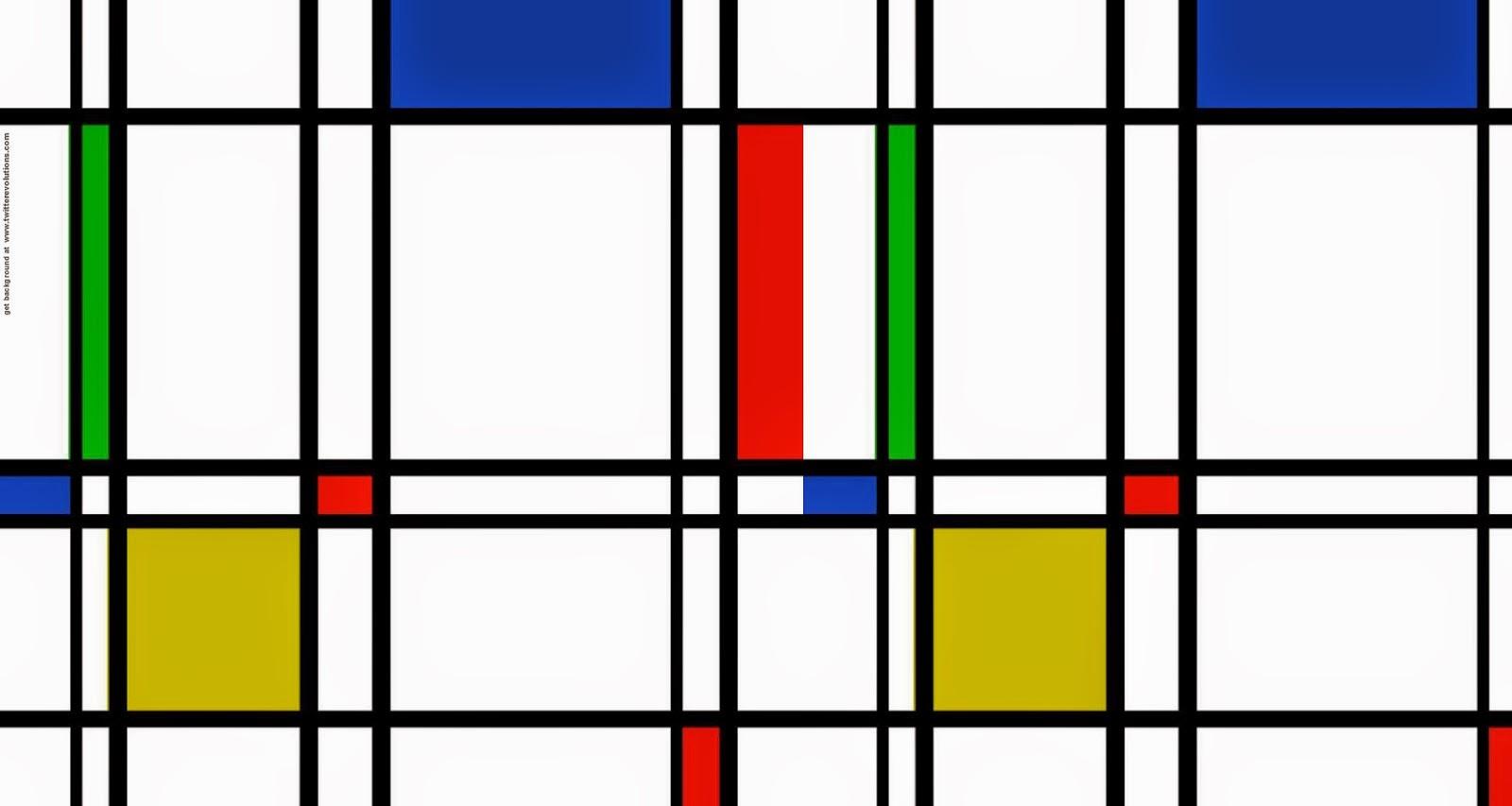 Icônica - Piet Mondrian e Suas Pinturas | Criador do Neoplasticismo