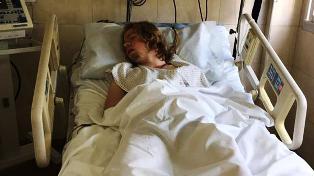 Joaquín Mieres está internado en terapia intensiva