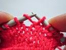 make one (M1)increase stitches