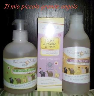 Prodotti per bambini, INCI Natura Bella - Baby - Eurospin